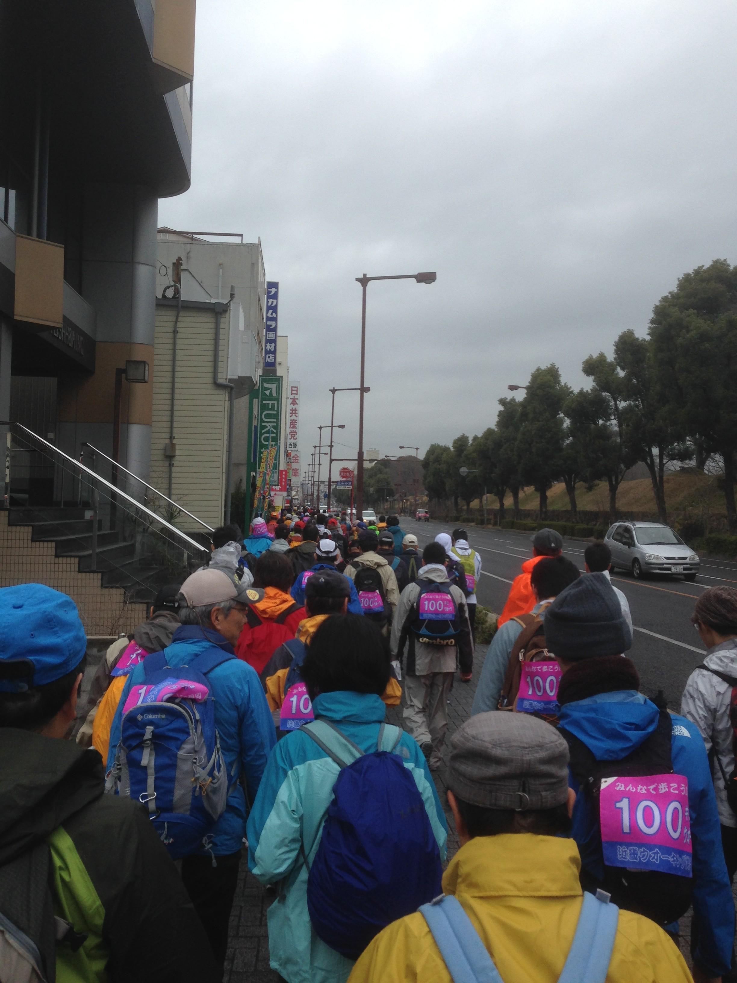 姫路大阪100kmウォーク参加しました。