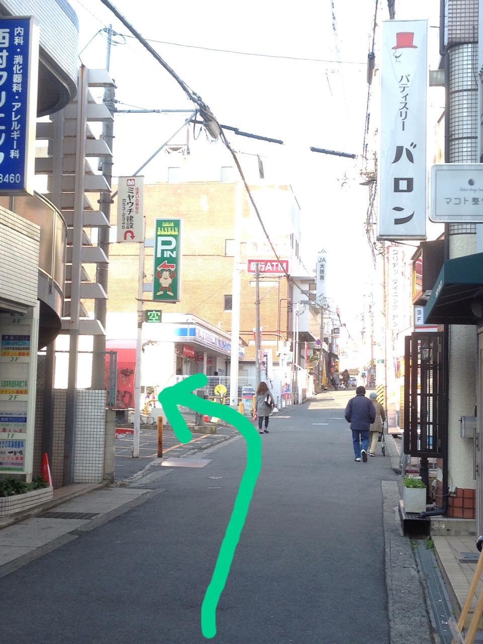 藤井寺店駐車場のご案内。