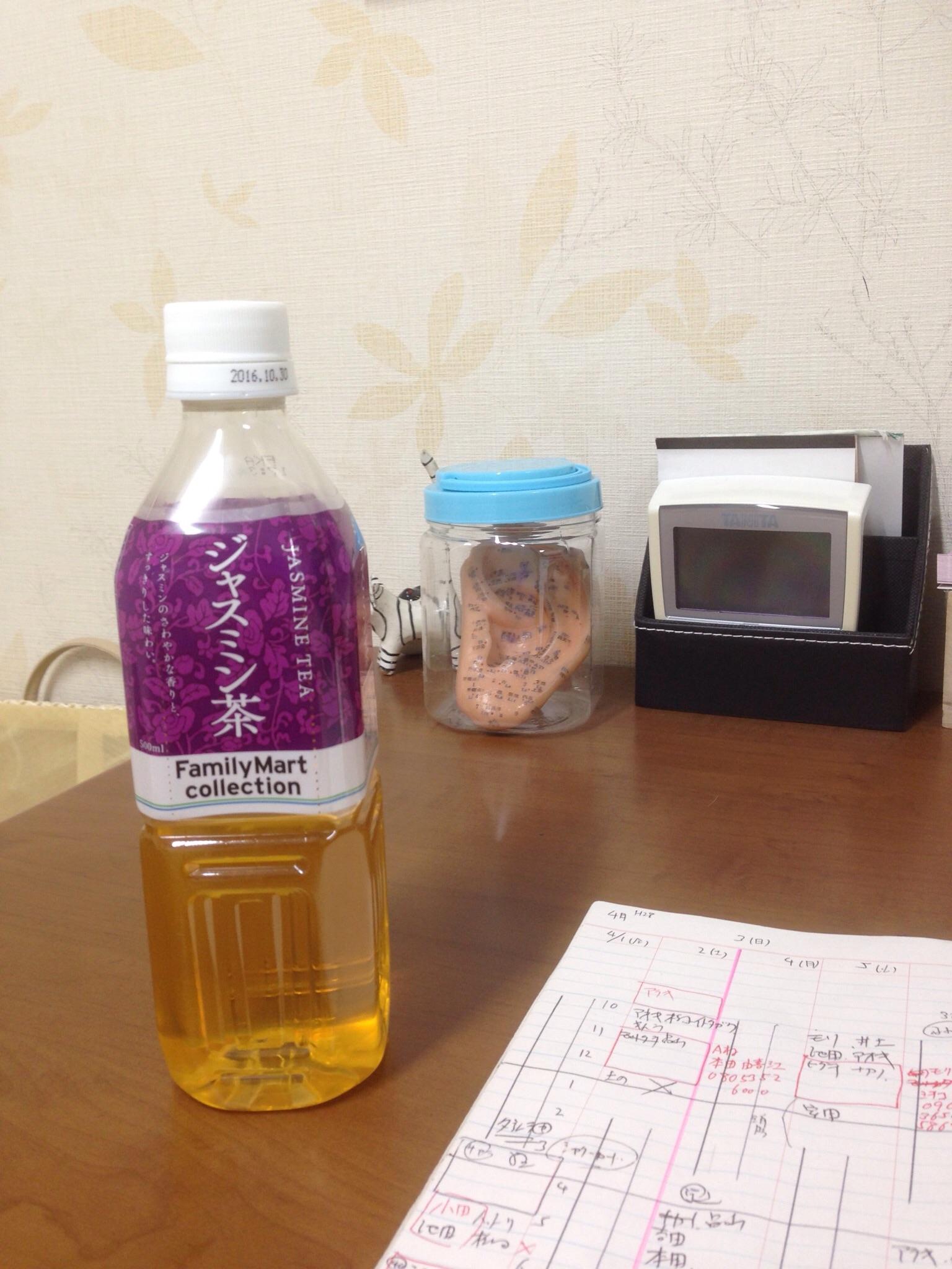 ジャスミン茶の効用。自律神経の安定、むくみ予防、体臭予防などなど…。