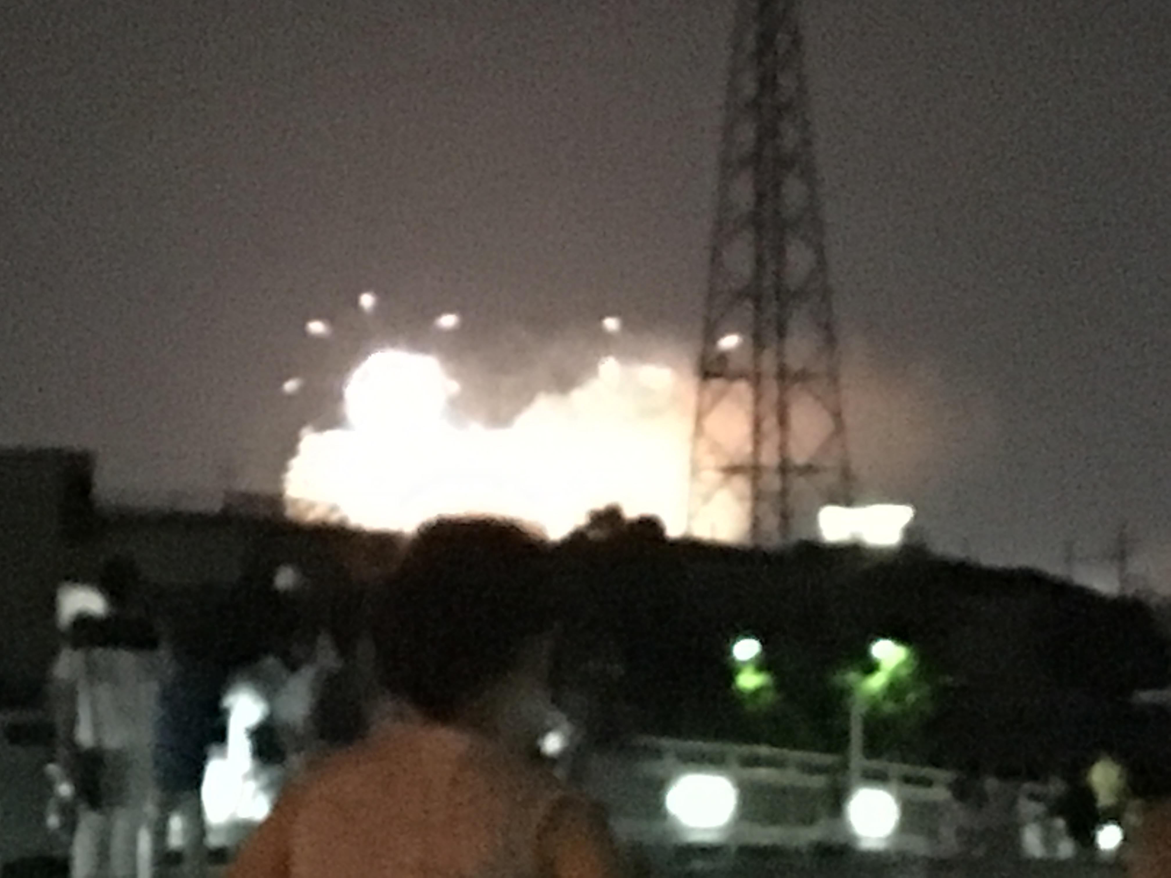 昨日は帰宅ランニングの後PL花火見れました。