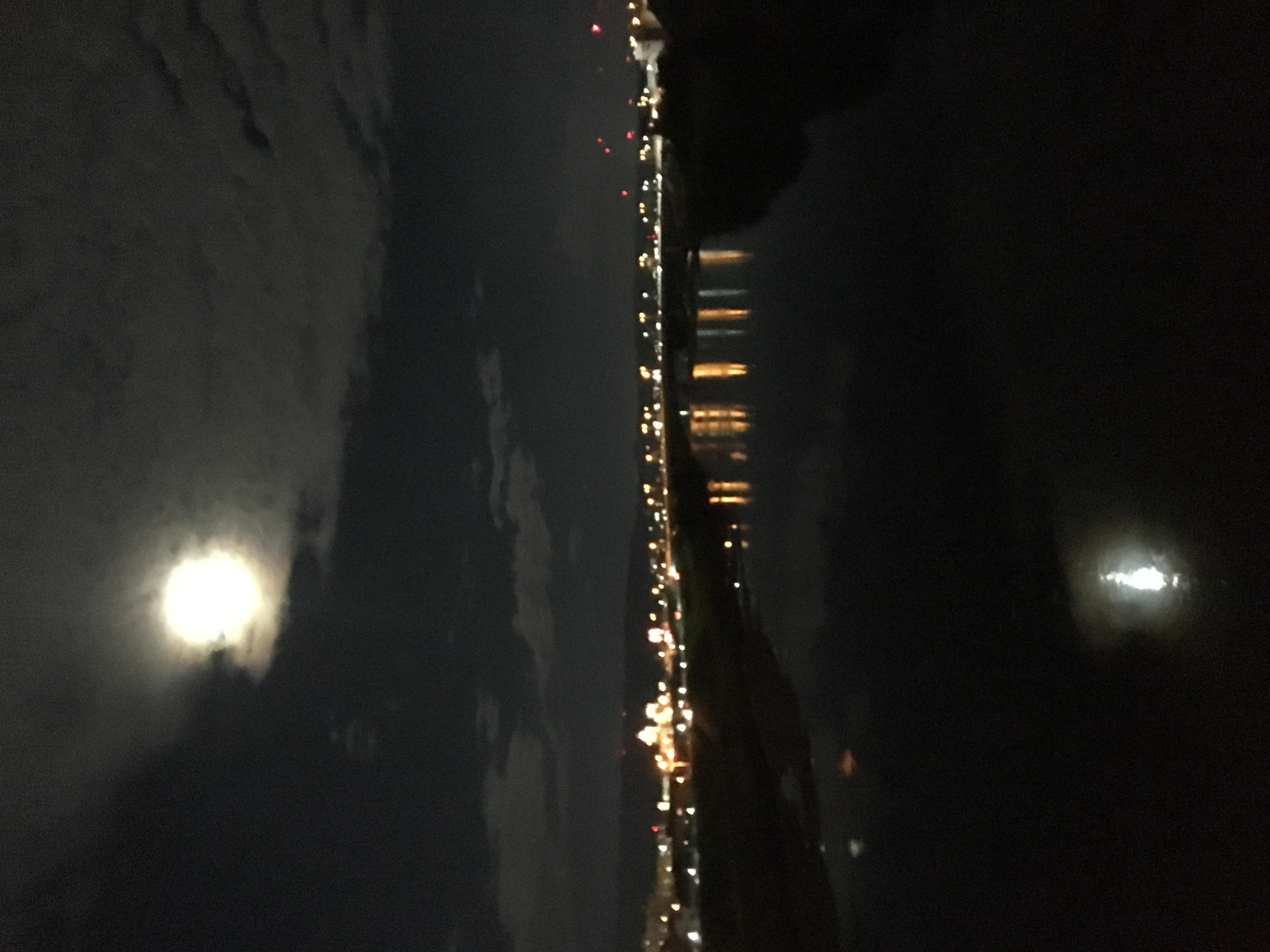 月見ランニング