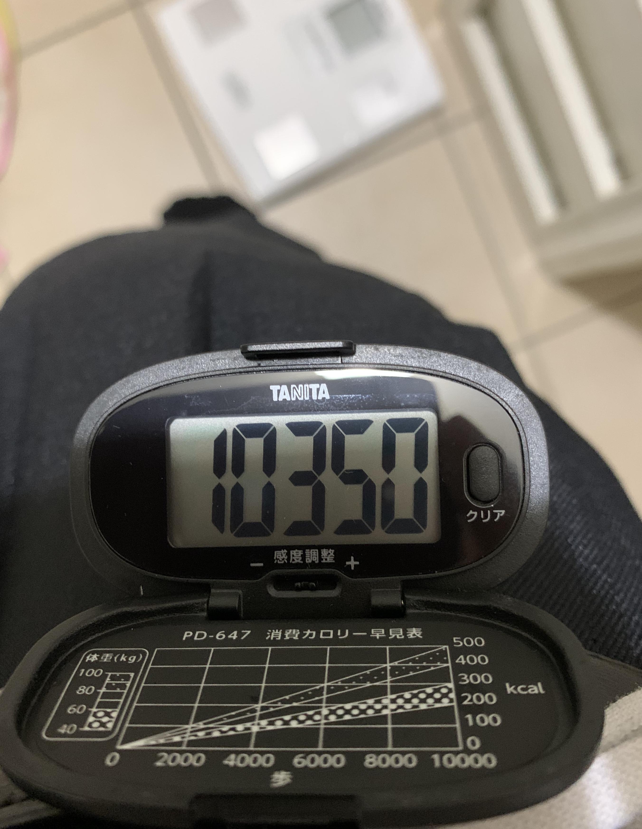 [ブログ]昨日はあんまり歩数行かずで…